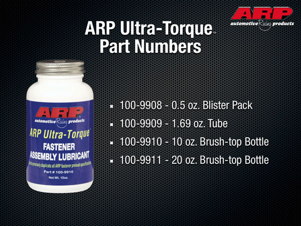 ARP | Official Website | ARP Ultra-Torque